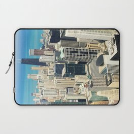 Chicago Buildings Color Photo Laptop Sleeve