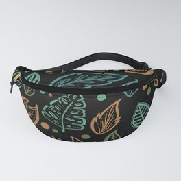 Colorful Floral Doodles Collection Fanny Pack