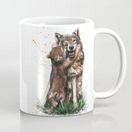 Wolf - Father and Son Coffee Mug