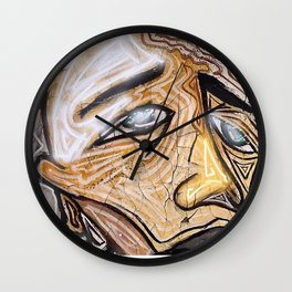 Unease Wall Clock
