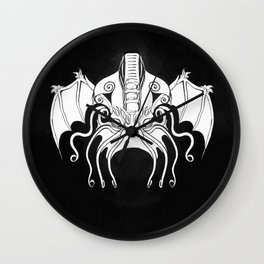 Face of Cthulhu Wall Clock