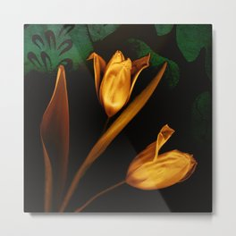 Tulips of the golden age Metal Print