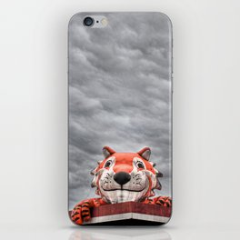 The Eye of the Tiger iPhone Skin