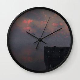 Morning Run (Cloud series #14) Wall Clock