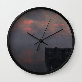 Morning Run (Cloud series #14) Wall Clock