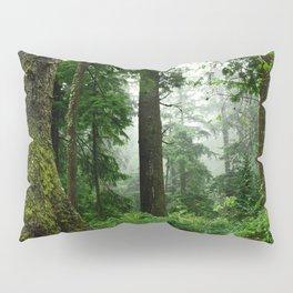 Light Fog in the Dense Forest Pillow Sham