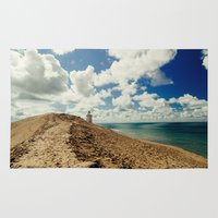 lighthouse Area & Throw Rugs featuring Lighthouse by Robin Oijer Photography