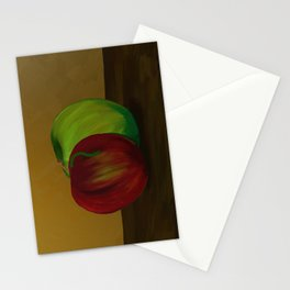 Them's Apples Stationery Cards