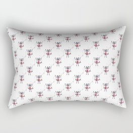 Pride Banner Siamese Cat Rectangular Pillow
