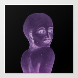Shoulder Gazer Canvas Print