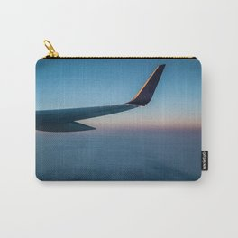 Sunrise in the Clouds Carry-All Pouch