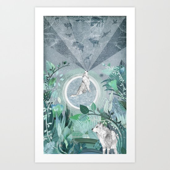 A Tale to Tell Art Print