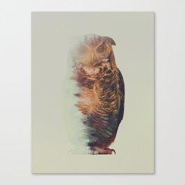 Norwegian Woods: The Owl Canvas Print