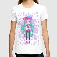 aqua T-shirts featuring Aqua by Glopesfirestar