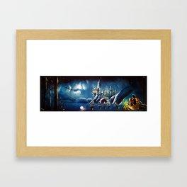 Magical Panorama Framed Art Print