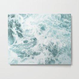 Rough Ocean Metal Print