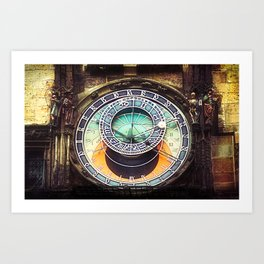 Prague Euorope city print, travel Art Print