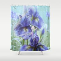 imagine Shower Curtains featuring Imagine by milyKnight