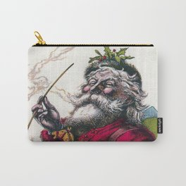 Victorian Santa Claus - Thomas Nast Carry-All Pouch