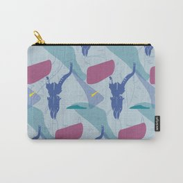 Pattern impala skull Carry-All Pouch