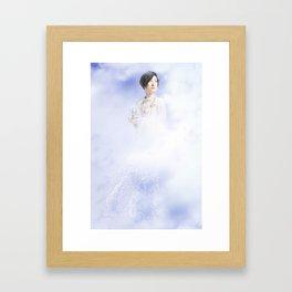 Goddess of Wind Framed Art Print