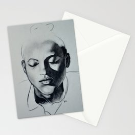 Shadow Girl Stationery Cards