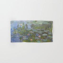 Claude Monet's Water Lilies Hand & Bath Towel