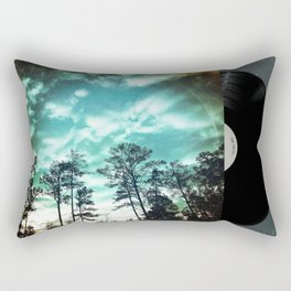 Big Sky - America As Vintage Album Art Rectangular Pillow