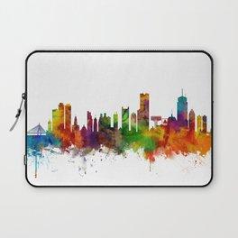 Boston Massachusetts Skyline Laptop Sleeve