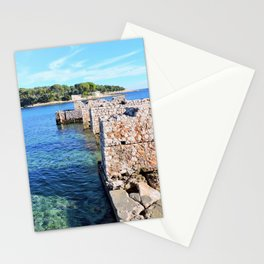 Saint Jean Cap Ferrat Winter Left Stationery Cards