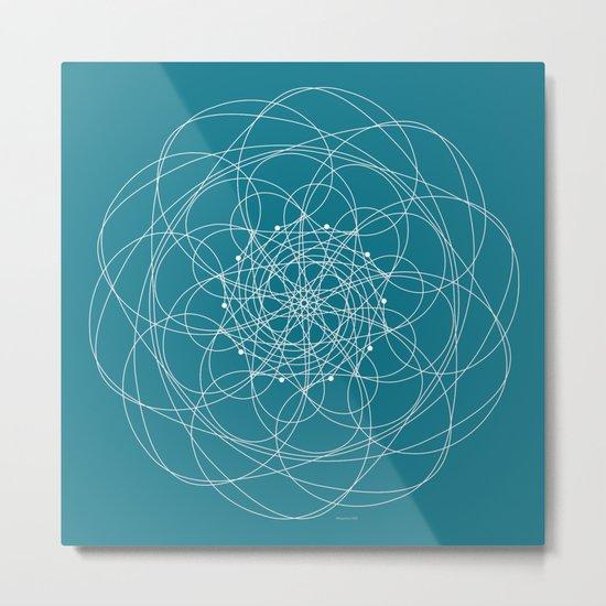 Ornament – Morphing Blossom Metal Print