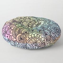 acuarelas Floor Pillow