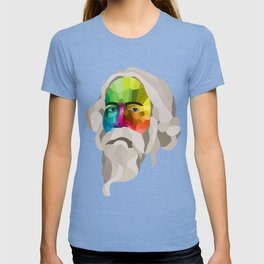 Rabindranath Tagore - popart portrait T-shirt