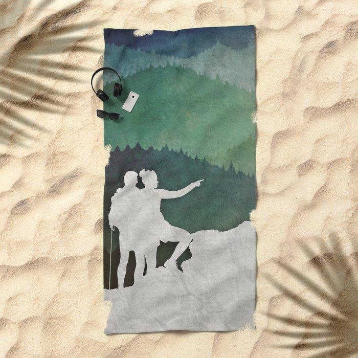 Trailblazers Beach Towel
