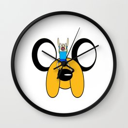 adventure times Wall Clock