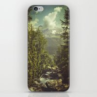 italian iPhone & iPod Skins featuring Mountain View - Italian Alps by Dirk Wuestenhagen Imagery