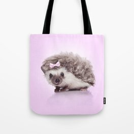 Curvy hedgehog Tote Bag