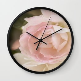 Wild Rose Wall Clock