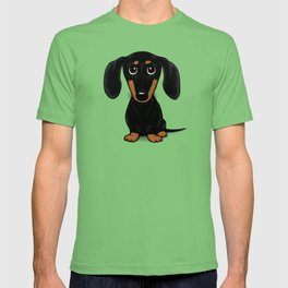 Black and Tan Shorthaired Dachshund T-shirt