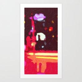 Roadside El Mirage Art Print
