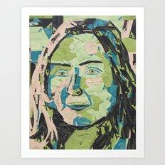 Anna Carte Art Print