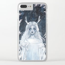 Lost spirit Clear iPhone Case