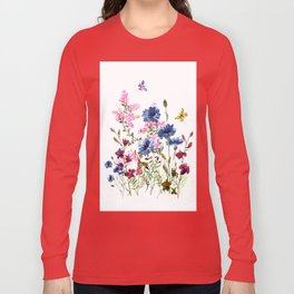 Wildflowers IV Long Sleeve T-shirt