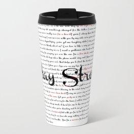 Stay Strong Travel Mug