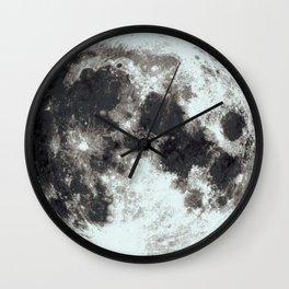 Blue Moon - Luna - Full Moon Wall Clock