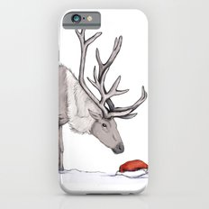 Christmas reindeer iPhone 6s Slim Case