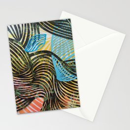 In The Time of Magnetism Stationery Cards