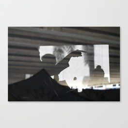 Pointed. Canvas Print