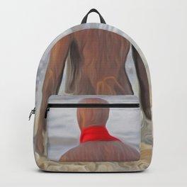 Gormley Iron Man (Digital Art) Backpack