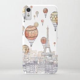 Voyages Over Paris ~ Refresh iPhone Case